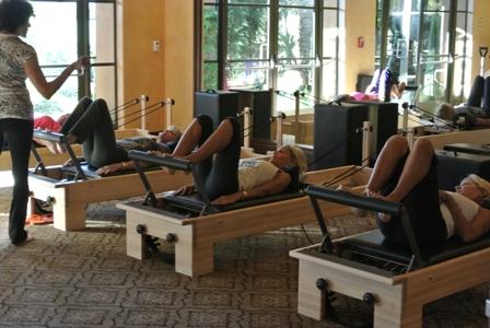 Reformer Pilates at Toscana